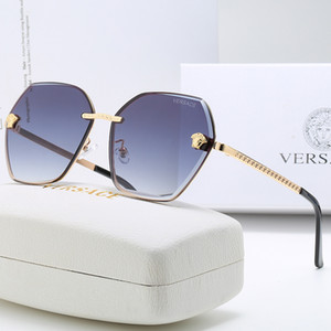 Medusa new Fashion classic sunglasses for women and diamonds flash top quality sunglasses for men and women