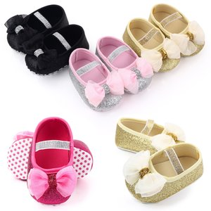Fashion New Baby Shoes Toddler Kid Baby Girl Chiffon Flower Elastic Band Newborn Walking Shoes Toddler Shoes