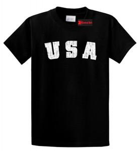 Проблемная футболка США American Pride Патриотическая домашняя футболка