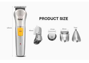 Kemei 570A 7 in1 мужчин Уход за кожей лица Уход Kit Электрические волос на лице Бритва триммер уха бороды Триммер Cutter волос