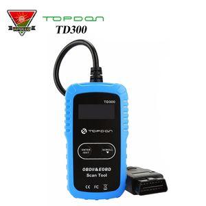TOPDON TD300 AL319 EOBD / OBEII Kod Okuyucu Araç Işık Truch OBD2 Teşhis Tarayıcı Araçları