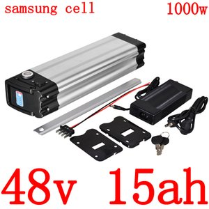 48V 15AH литиевые батареи 9AH 12AH 18AH Электрический велосипед батареи 500W 750W 1000W литий-ионный Ebike использование Samsung клеток