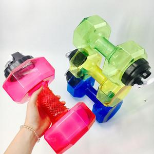 2.5L Outdoor Palestra Dumbbell Bollitore Manubri Bottiglia di Acqua Fitness Outdoor Fitness Bicicletta Campeggio Bottiglia di Acqua All'aperto 5 Colori HH9-2110