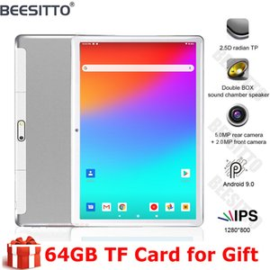 2020 New 10 Inch Android 9.0 Tablet Quad Core 32G ROM Tablets 1280*800 IPS LCD Dual SIM Card 3G Tablet Pc