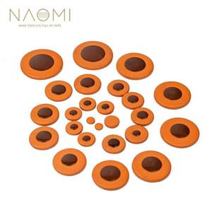 NAOMI 25pcs Alto Saxophone Pads Sax Leather Pads Replacement For Alto Saxophone
