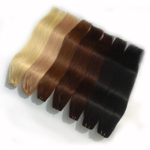 Brazilian Hair Straight 14-28inch 1 Bundles Unprocessed Human Hair Weave 100% Human Hair Extension 20colors Available Factory Price