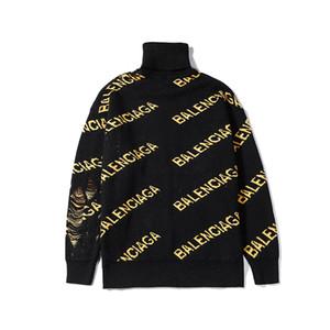 Новый классический свитер Роскошные Вязание Толстовки Черепаха шеи свитер бренда Мода Классический дизайн зима Wolly Толстовка Real Picture B103470L