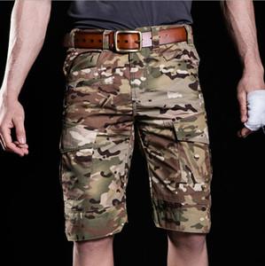 Новые мужчины джунгли боевые инструменты шорты водонепроницаемый царапинам шорты Работа обучение одежда Спорт на открытом воздухе камуфляж свободные тактические шорты