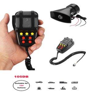 For Waterproof 12v Horn Klaxon Sirens Super Loud Speaker In Car Black Sound Automotive Pioneer Megaphone Horns