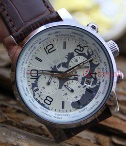 Designer Top-Edelstahl-automatische Bewegungs-Uhr-Luxus Männer Leder Big Dial Sportuhren Mechanische Selbstwind Herren Armbanduhren
