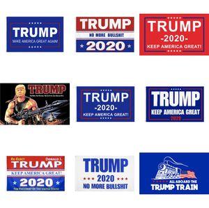 Trump 2020 Bandeira Donald Trump Bandeira Mantenha América Grande 150X90Cm Donald Decor bandeira para o presidente da bandeira dos EUA Polyester # 620