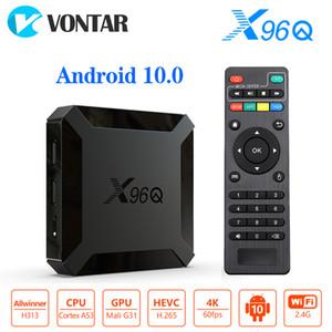 Коробка TV Андроида X96Q 10.0 набор H313 2 ГБ 16 ГБ смарт-телевизор коробка четырехъядерный поддержка 4K с Netflix и YouTube телеприставки