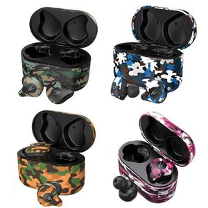 Camouflage Sabbat E12 Ultra Camouflage TWS True Wireless v5.0 Bluetooth aptX Earphone Wireless charger Headset In-Ear St