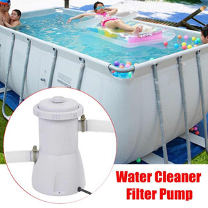 Filtro eléctrica 220V bomba de la piscina filtro de la bomba de agua sucia Clean Clear Pond piscina Bombas Accesorios