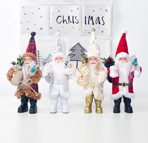 New Santa Claus Doll Mini Santa Claus Doll Creative Fabric Home Decoration