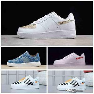 Лунный sf1 низкий Утконос кроссовки средний оливковый темно-синий желтый камедь мужская спортивная высокая sf af1 обувь аббревиатура мода Повседневная обувь Snea