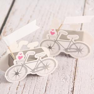Forme de bicyclette Boîte de papier Cartoon vélo mariage anniversaire papier Faveur Candy Box Célébration Party Boîte cadeau baby shower