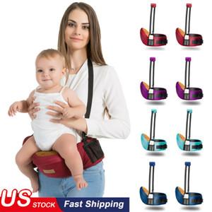 Bebek Taşıyıcı Bel Dışkı Çocuk Bebek Fonksiyonlu Bel sapanlar Kalça Koltuk Kanguru Suspenders Sırt Çantası Bebek Askılar Hipseats