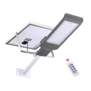 Солнечный светодиодный уличный фонарь 20W 30W 40W 50W 100W Super Bright Солнечные панели Прожектор водонепроницаемый IP67 уличный фонарь с пультом дистанционного управления