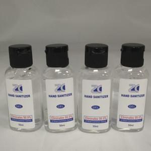 Hand Sanitizer Ménage enfants Voyage adulte Portable Quick Dry efficace Mini instantané pour les mains En stock 50ML Sea Shipping YP332