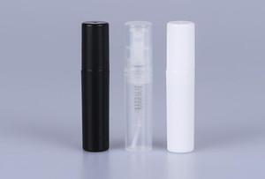 2ML / 2G Clear Refillable спрей Empty Bottle Маленький круглый пластиковый мини Форсунка Путешествия Косметический макияж Контейнер для парфюмерии Sample SN18