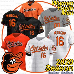 Baltimores Cal Ripken Jr. Jersey Chris Davis Chance Sisco Mark Trumbo Rio Ruiz Anthony Santander Austin Hays 2020 Temporada Jersey