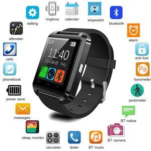 2020 Smart Watch U-Uhr-Smart-Uhren für Smartwatch Samsung Sony Huawei Android Phones Gut mit Paket reloj inteligente