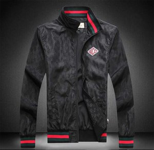New men's jacket European and American designer luxury long-sleeved fashion business jacket autumn and winter Medusa outdoor jacket small ba