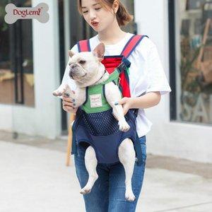 Pet Dog Transportadora Backpack malha camuflagem exterior de viagem produtos respiráveis ombro sacos alça para Small Dog Cats Chihuahua