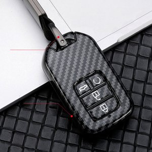 ABS shell Car Key Case for FIT XRV CITY JAZZ HRV CRVA EX EXL Crv Crz Pilot Ridgeline car styling