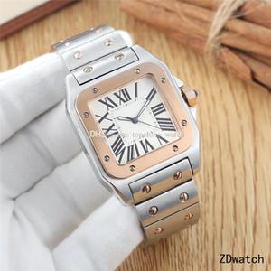 최고 브랜드 남성 명품 시계 여성 시계 스테인레스 스틸 사파이어 유리 드레스 자동 시계 방수 원래 버클 다이아몬드 아이스 아웃