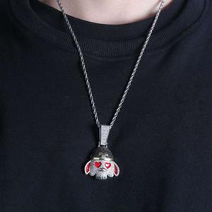 Мода-Путешествие кулона West ожерелье буддизм роскошных бриллиантов китайской культура Король обезьян подвески 18K позолоченных ожерелья ювелирного
