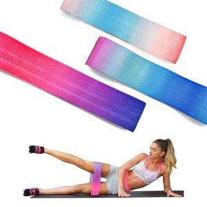 Bacaklar Uyluk Glute BuSquat Gruplar Yoga Ana Gym Eğitim Unisex Ganimet Bant Kalça Çember Loop Direnci Band Egzersiz Egzersiz