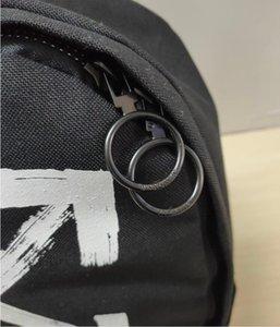 Marca nuevos mochila para muchachas de las mujeres de gran capacidad con mochilas de nylon blanca Mochila envío de la gota
