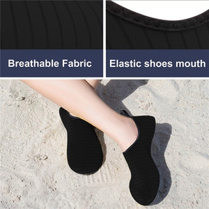 Chaussures d'été Femmes Eau Flats Barefoot Chaussures de plage Chaussures de sport respirant Zapatos 2019 Casual Chaussures confortable Big Taille 36-43