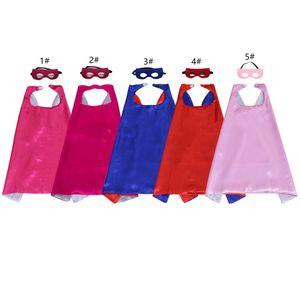 Enfants Super Hero Capes Et Masques De Noël Dress Up Costumes La Thème De La Fête D'anniversaire Vêtements pour Garçons Et Filles