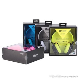 Hot AB-005 drahtlose Kopfhörer Sport-Kopfhörer Kopfhörer Folding mit LED-Blitz TF-Karte Bluetooth-Headset mit Mikrofon Auto