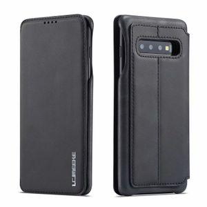 LC.IMEEKE per Samsung Galaxy S7 Edge S8 S9 S10 plus S10E 5G Note 8 9 Custodia per telefono Custodia di lusso Portafoglio Custodia in pelle con cover per carte