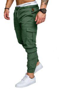 20ss Autumn Spring Casual Pantalones Men Designer Cargo Solid Pants Trousers