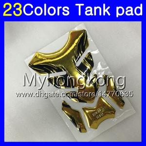 Fibra del carbón 3D del cojín del tanque para HONDA VFR400RR 94 95 96 97 98 NC35 VFR400 RR 1994 1995 1996 97 1998 MY100 Gas Tapa del tanque Protector de etiquetas de pegatina