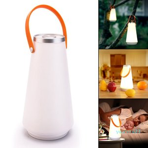 Wholesale-Touch Switch Portable Lantern Hanging Tent Lamp USB Rechargeable Night Light for Bedroom Living Room Camping With USB Cable
