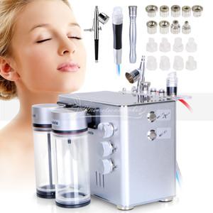 Yeni Geldi 3 1 Hidro Elmas Dermabrazyon Siyah Kafa Su Soyma Yüz Cilt Gençleştirme Güzellik Makinesi