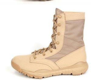 حار بيع التكتيكية أحذية شتاء جلدية العسكرية الكاحل أحذية الصيف الصحراء أحذية السلامة للرجال الأحذية أحذية القتال
