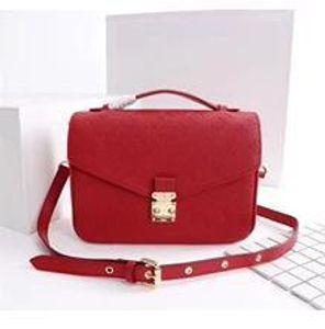 2019 NOVITÀ rosso nero vera pelle goffrata nero rosso borsa da donna pochette designer borse a tracolla Metis borse a tracolla messenger ba