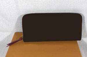 Flor marrón MO. CARTERA CLEMENCE M60742 M61298 o CARTERA DE ALGODÓN, Producto Designado por el cliente