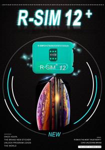 Nouvelle arrivée originale et carte de déverrouillage de marque nouvelle RSIM12 + RSIM 12+ pour iPhone compatible avec tous les IOS et modèle avec DHL gratuit