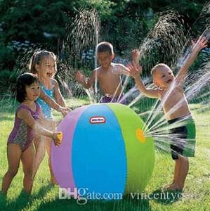 Автоматическое Спринклерные Надувные Вышибалы открытый водный воздушный шар мяч лето вода пляж газон игра Детские игрушки мальчиков и девочек игры играть