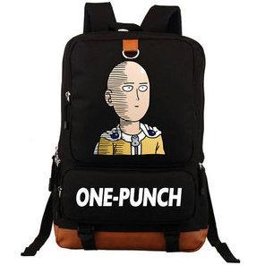 Saitama Rucksack One Punch Man Daypack Starker Junge Schultasche Cooler Packsack Computerrucksack Sportschultasche Outdoor-Tagesrucksack