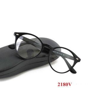 من hotsale للجنسين الرجعية خمر 2180 جولة النظارات البصرية إطار 51-20-150 المستوردة نقية لوح لالنظارات الطبية حالة sunglassefull بين مجموعة