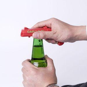 форма консервных пружины Катапульта Launcher Gun Bar Tool Drink Открытие Shooter бутылки пива открывалка Творческий 10шт